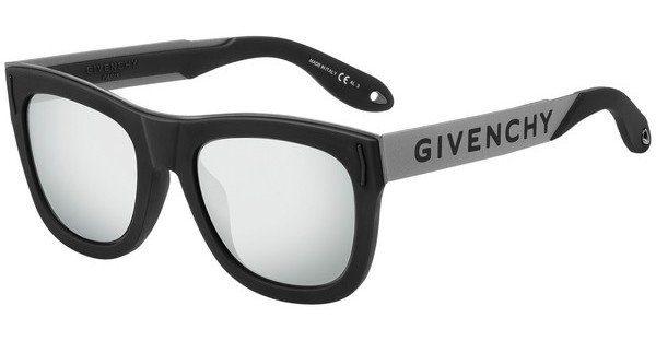 GIVENCHY Givenchy Sonnenbrille » GV 7016/N/S«, schwarz, 80S/IR - schwarz/grau