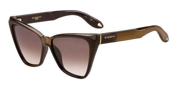GIVENCHY Givenchy Damen Sonnenbrille » GV 7032/S«, schwarz, D28/E4 - schwarz/braun