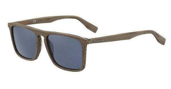 Boss Orange Herren Sonnenbrille » BO 0320/S«, schwarz, 2W7/QT - schwarz/grün
