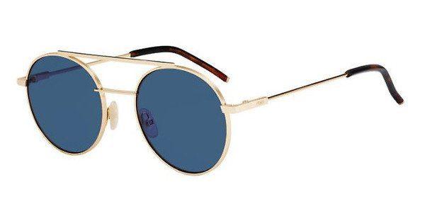 FENDI Fendi Herren Sonnenbrille » FF 0221/S«, rosa, 000/KU - rosa/blau