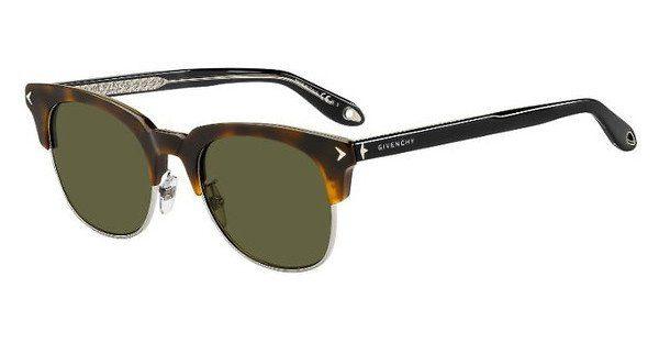 GIVENCHY Givenchy Herren Sonnenbrille » GV 7083/F/S«, braun, 086/QT - braun/grün
