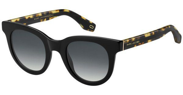 MARC JACOBS Marc Jacobs Damen Sonnenbrille » MARC 280/S«, schwarz, WR7/GB - schwarz/ blau