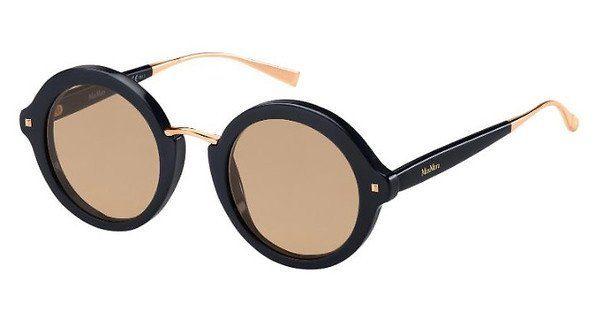 Max Mara Damen Sonnenbrille » MM NEEDLE VIII«, rosa, FWM/IR - rosa/grau