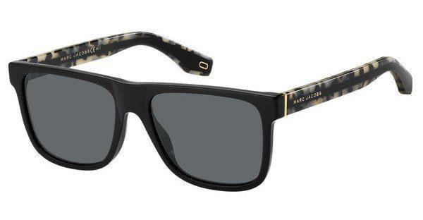 MARC JACOBS Marc Jacobs Herren Sonnenbrille » MARC 275/S«, schwarz, 807/IR - schwarz/grau
