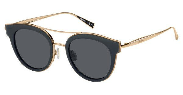Max Mara Damen Sonnenbrille » MM ILDE IV«, braun, 086/IR - braun/grau