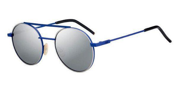 FENDI Fendi Herren Sonnenbrille » FF M0003/S«, blau, PJP/KU - blau/blau