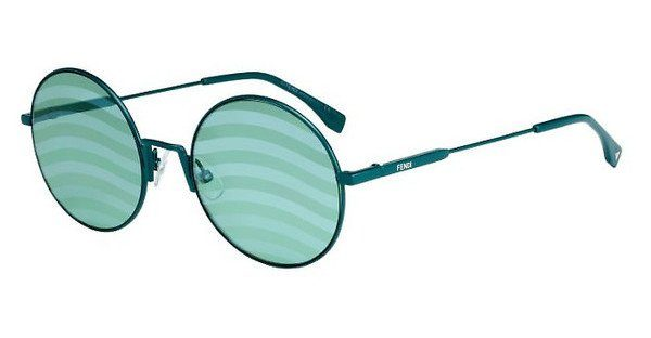 FENDI Fendi Damen Sonnenbrille » FF 0248/S«, grün, 1ED/XR - grün/grün