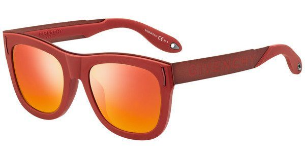 GIVENCHY Givenchy Sonnenbrille » GV 7060/S«, rot, C9A/IR - rot/grau