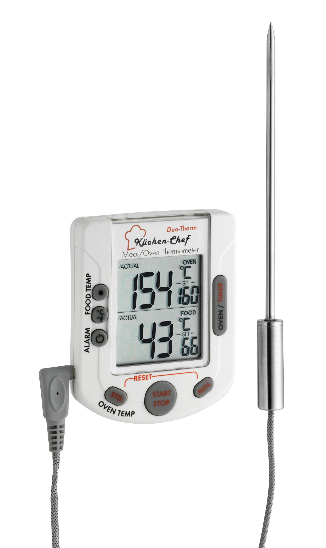 TFA Dostmann Digitales Grill-Braten-/Ofenthermometer »KÜCHEN-CHEF DUO-THERM«