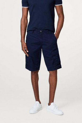 ESPRIT Cargo-Shorts aus reiner Baumwolle