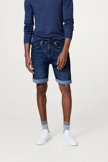ESPRIT Denim-Bermuda mit Organic Cotton