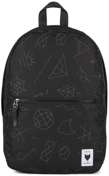The Pack Society Rucksack mit Laptopfach, »Collaboration Backpack Commuter, black with grey«