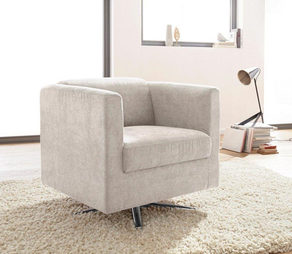 inosign sessel bob drehbar mit sternfu kaufen otto. Black Bedroom Furniture Sets. Home Design Ideas