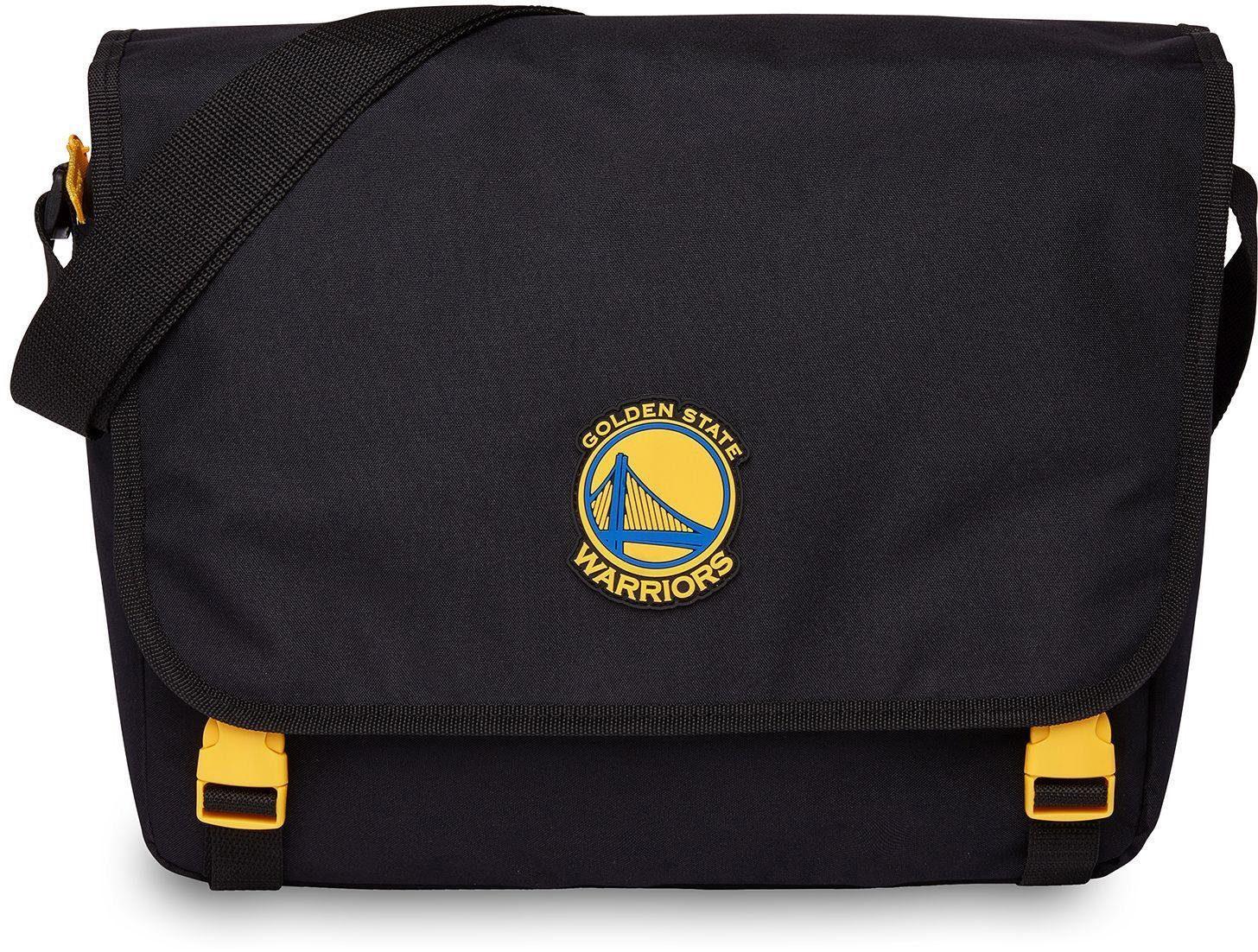 NBA Umhängetasche mit 15-Zoll Laptopfach, »NBA Messenger, Golden State Warriors«