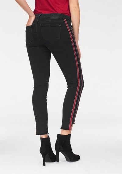 Mavi Skinny-fit-Jeans »ADRIANA ANKLE« mit trendy Seitenstreifen 8a37a2ee6d