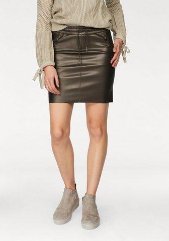 AJC Dirbtinės odos sijonas