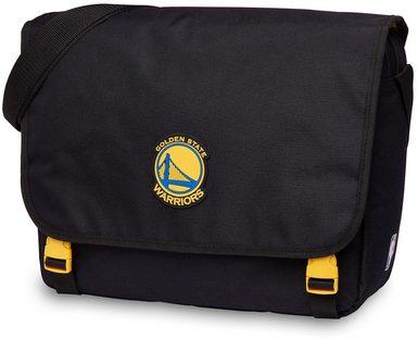 zoll Mit Nba State Golden Umhängetasche »nba Laptopfach Warriors« Messenger 15 WFn6qnwU