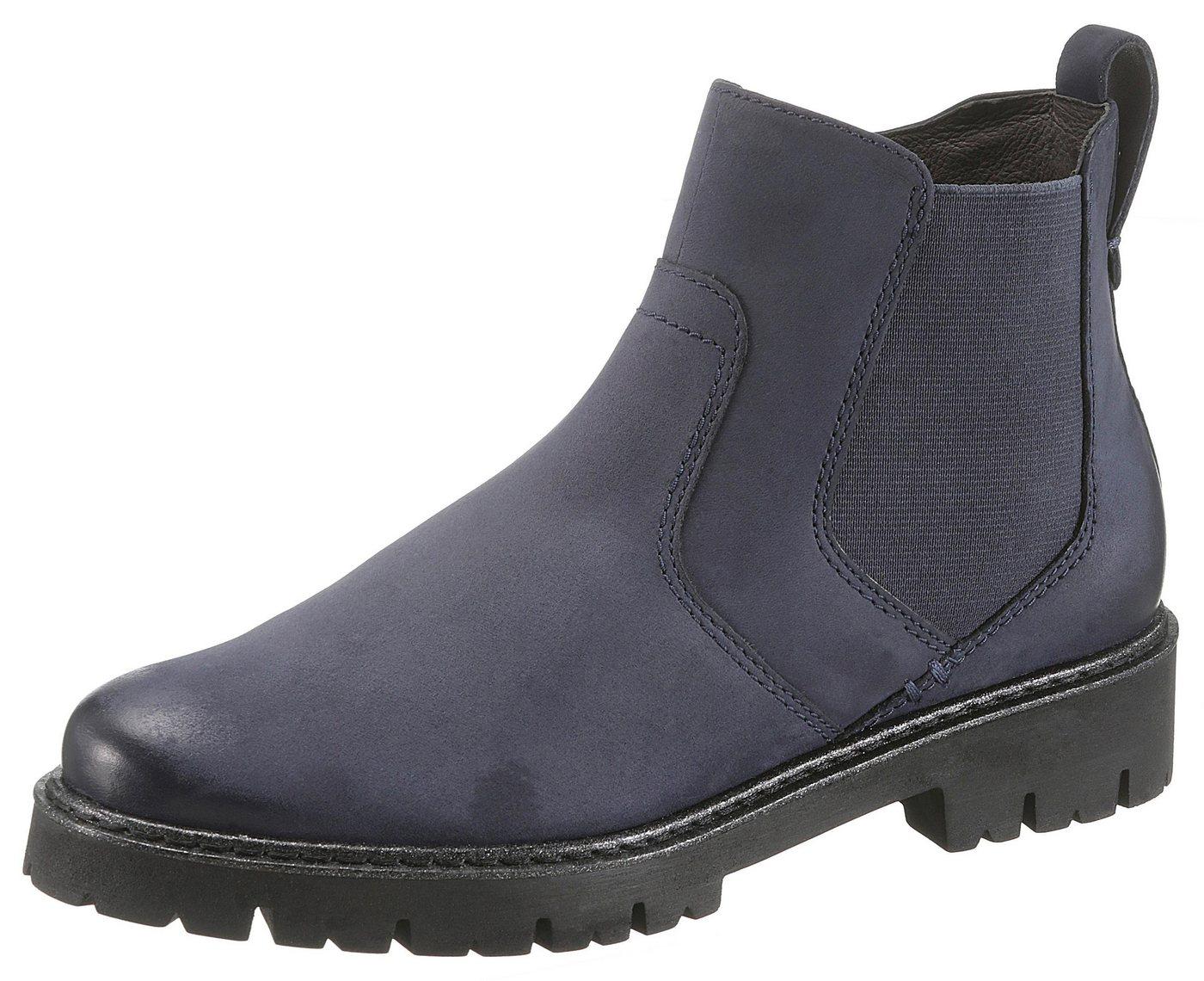 Be Natural Chelseaboots mit Soft Flex Dämpfung | Schuhe > Boots > Chelsea-Boots | Blau | Jeans | Be Natural