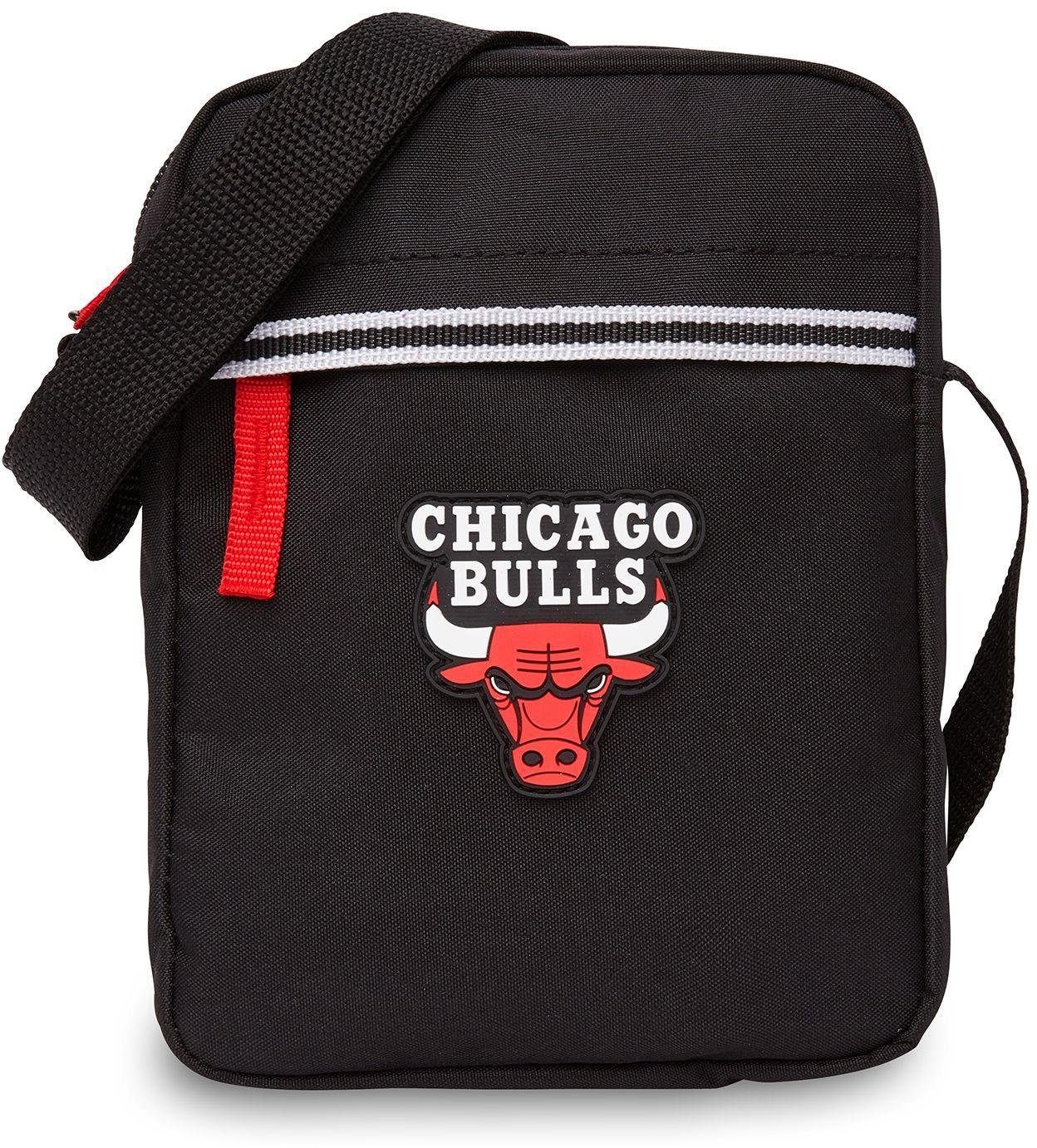 NBA Umhängetasche, »NBA Small Shoulder Bag, Chicago Bulls«