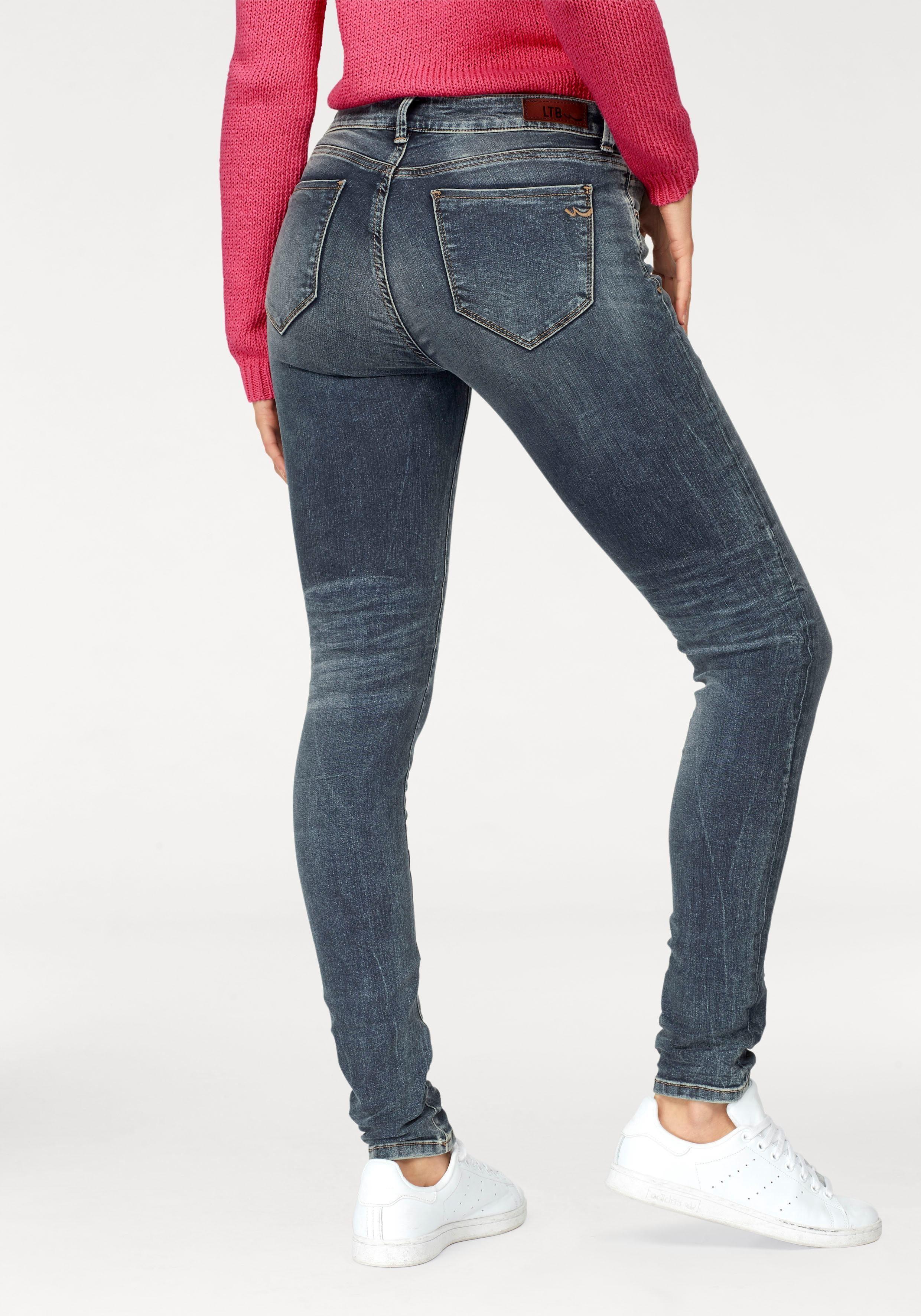 Freddy WR.UP®  7//8 Länge Regular Waist Super Skinny Damen Hose aus Jersey