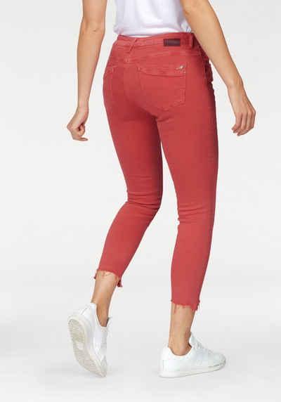 Mavi Skinny-fit-Jeans »TESS« in trendigen Farben b0aa8a6b55