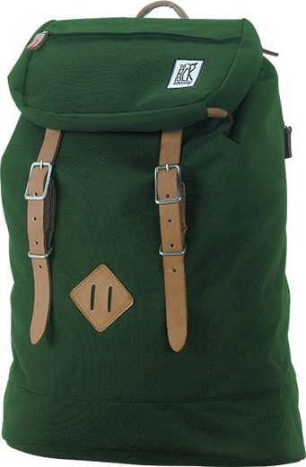 The Pack Society Laptoprucksack »Premium Backpack Classics, Solid Forest Green«