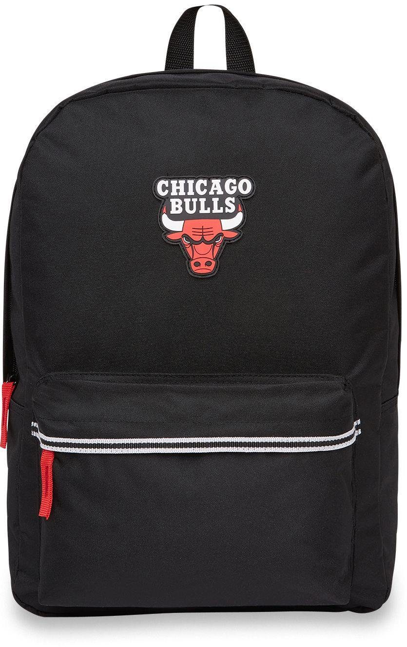 NBA Rucksack mit 15-Zoll Laptopfach, »NBA Classic Backpack, Chicago Bulls«