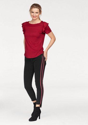 Seitenstreifen Mit »adriana Trendy jeans Mavi fit Skinny Ankle« qSz6a6x