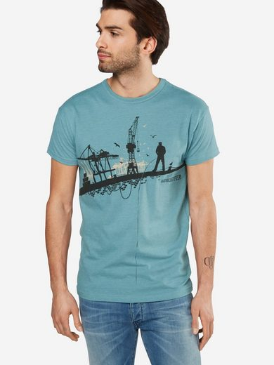 Derbe Rundhalsshirt Hafenschiffer 18