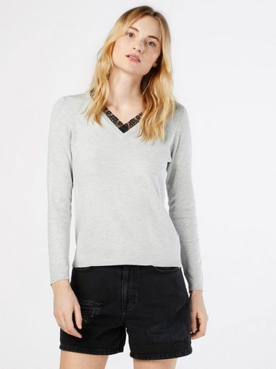 Only Strickpullover SYSSE, Spitze