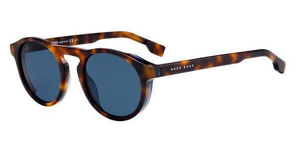 Boss Herren Sonnenbrille » BOSS 0973/S«, blau, WKM/70 - blau