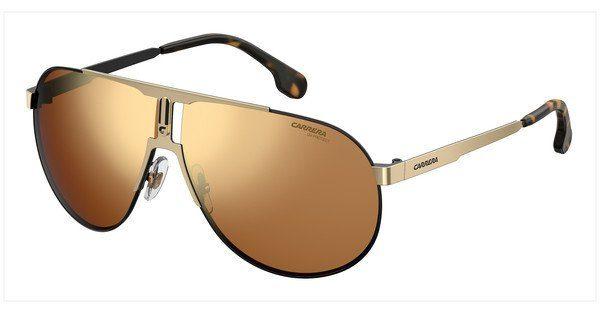 Carrera Eyewear Herren Sonnenbrille » CARRERA 1005/S«, weiß, B4E/HA - weiß/braun