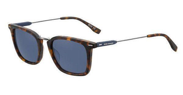 Boss Orange Herren Sonnenbrille » BO 0317/S«, braun, 086/KU - braun/blau