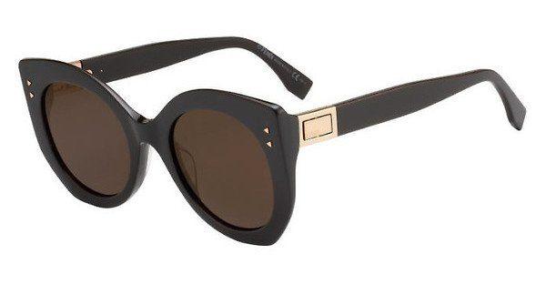 FENDI Fendi Damen Sonnenbrille » FF 0265/S«, braun, 09Q/LC - braun/ gold