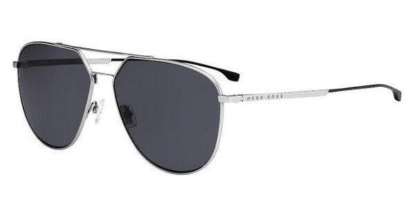 Boss Herren Sonnenbrille » BOSS 0994/F/S«, schwarz, 003/M9 - schwarz/grau