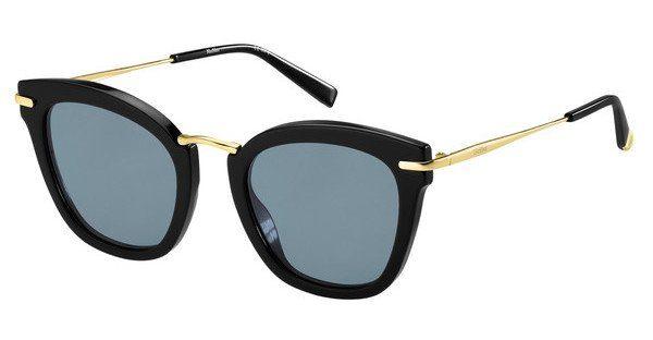 Max Mara Damen Sonnenbrille » MM NEEDLE IX«, weiß, SZJ/IR - weiß/grau