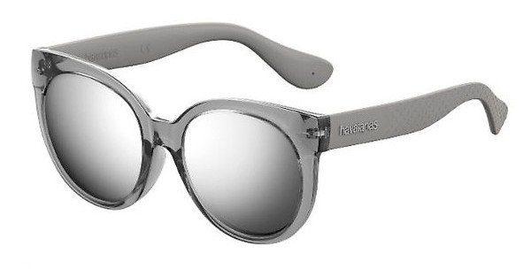Havaianas Damen Sonnenbrille » NORONHA/L«, schwarz, QFU/9O - schwarz/grau