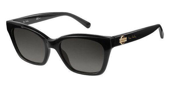 Pierre Cardin Damen Sonnenbrille » P.C. 8452/S«, schwarz, 807/9O - schwarz/grau