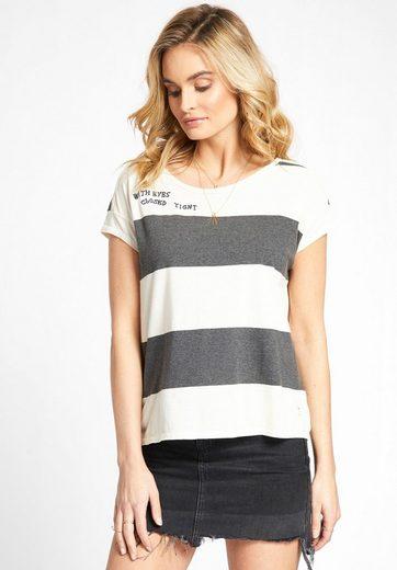 khujo T-Shirt HAUNANI, aus reiner Baumwolle