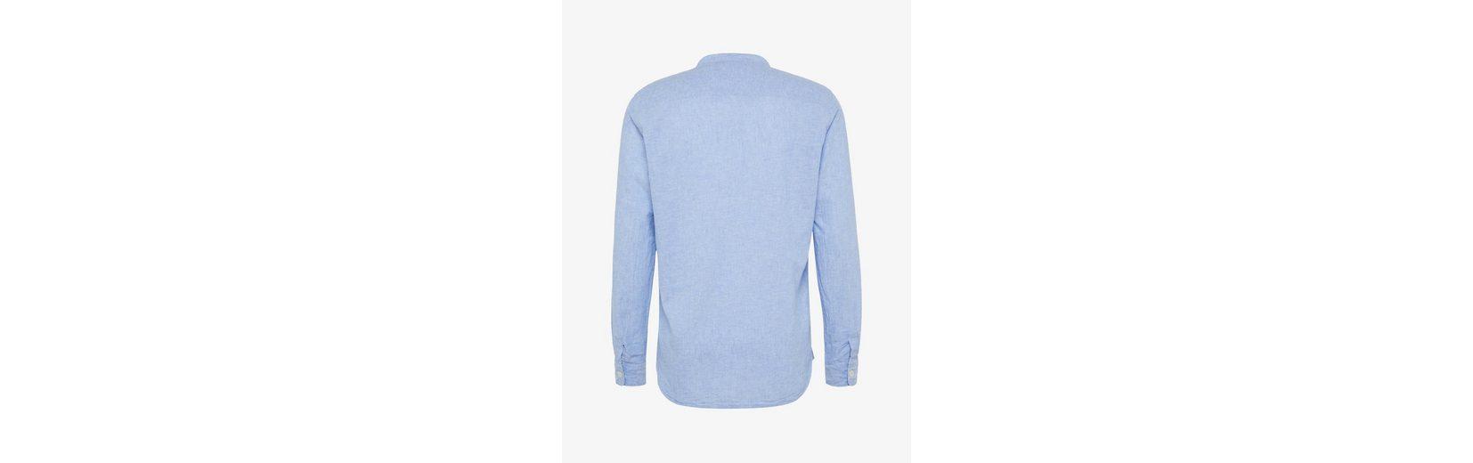 Stehkragen Tom Hemd Tailor aus Tom Leinen Hemd Baumwollgemisch mit Tailor C7ZU5OW
