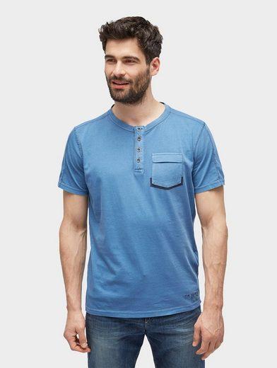 Tom Tailor T-Shirt T-Shirt mit Waschung und Brusttasche