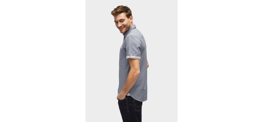 Rabatt Perfekt Besuchen Verkauf Online Tom Tailor Kurzarmhemd Kurzarmhemd mit dezentem Streifenmuster Auf Der Suche Nach Professioneller Günstiger Preis SYdFtqJHzD