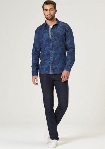 PIONEER Hemd Herren - modern fit Shirt LS