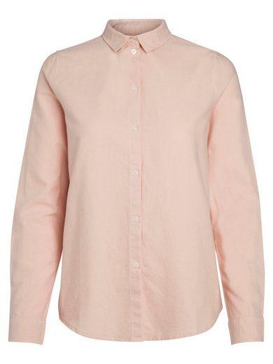 Pieces Klassisches Langarm Hemd