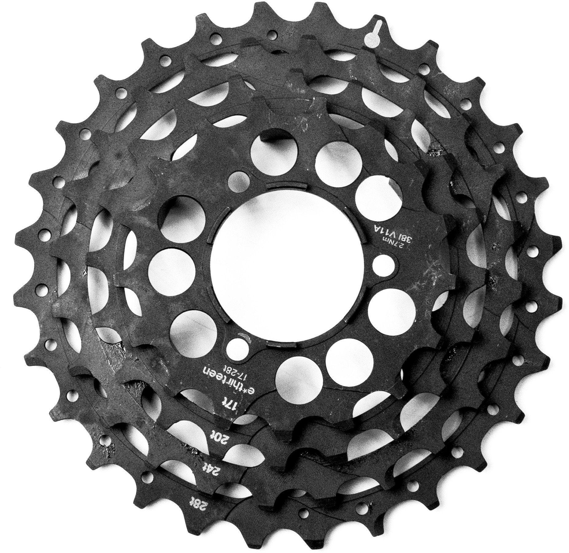 e*thirteen Fahrradkasetten »Stahlritzel für TRS+ Kassette 10/11-fach«