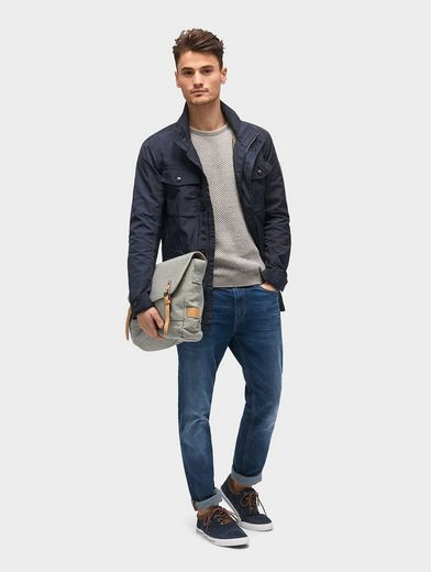 Tom Tailor Fieldjacket Jacke mit aufgesetzten Taschen