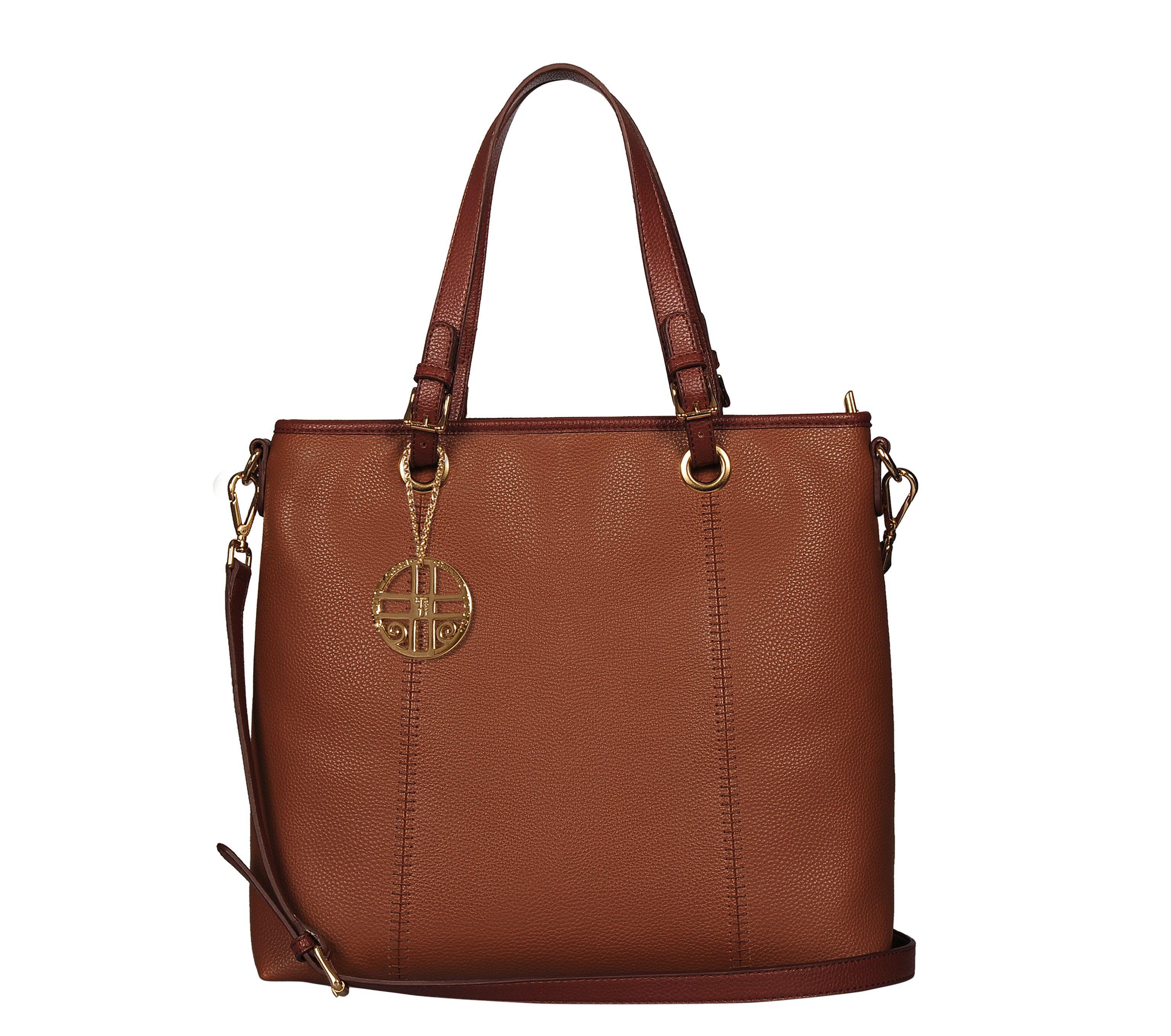 Silvio Tossi Handtasche mit Spezialschutzschicht