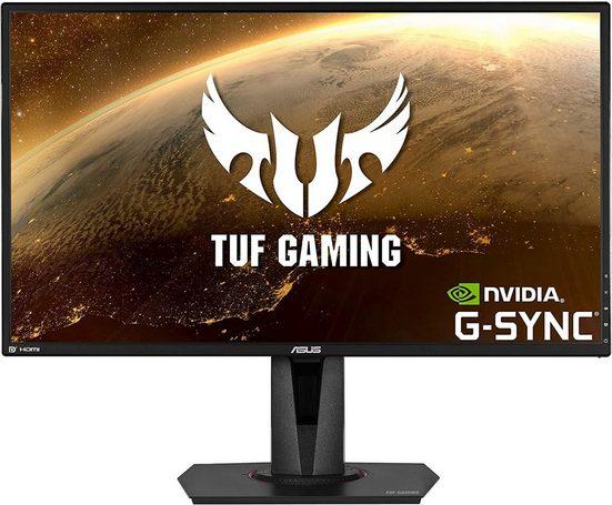 """Asus VG27AQ Gaming-Monitor (68,58 cm/27 """", 2560 x 1440 Pixel, WQHD, 1 ms Reaktionszeit, 165 Hz, IPS, 68,6 cm (27) WQHD, 1 ms)"""