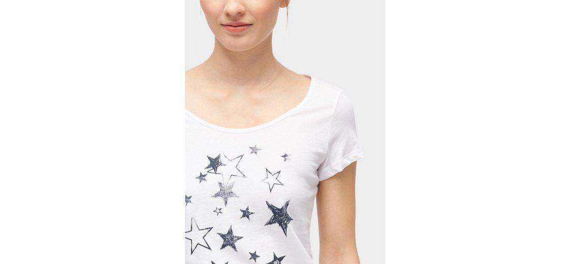 Erschwinglich Zu Verkaufen Tom Tailor Denim T-Shirt T-Shirt mit Print-Motiv Günstig Kaufen Extrem Outlet Beliebt GlR3nHNE
