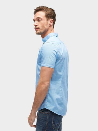 Tom Tailor Kurzarmhemd gemustertes Kurzarmhemd